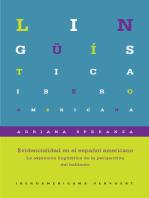 Evidencialidad en el español americano
