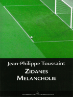 Zidanes Melancholie