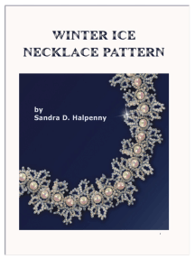 Winter Ice Necklace Pattern