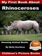My First Book about Rhinoceroses