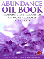 Abundance Oil Book - Prosperity Consciousness for Money & Wealth Attraction