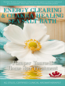 Energy Clearing & Chakra Healing Sea Salt Bath - Pamper Yourself Home Spa Treatment: Essential Oil Spa