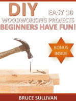 DIY Easy 10 Woodworking Projects