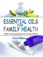Essential Oils For Family Health
