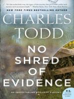 No Shred of Evidence: An Inspector Ian Rutledge Mystery