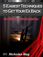 5 Easiest Techniques To Get Your Ex Back