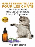 Huiles essentielles pour les chats