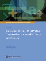 Evaluaciones nacionales del rendimiento académico Volumen 1: Evaluación de los niveles nacionales de rendimiento académico