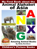 My First Book about the Animal Alphabet of Asia