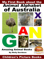 My First Book about the Animal Alphabet of Australia