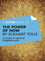A Joosr Guide to... The Power of Now by Eckhart Tolle