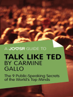 A Joosr Guide to... Talk Like TED by Carmine Gallo