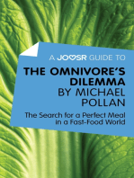 A Joosr Guide to… The Omnivore's Dilemma by Michael Pollan