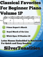 Classical Favorites for Beginner Piano Volume 1 P