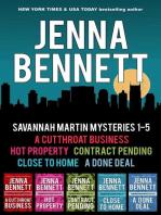 Savannah Martin Mysteries 1-5