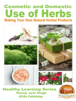 Cosmetic and Domestic Uses of Herbs