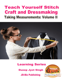 Teach Yourself Stitch Craft and Dressmaking: Taking Measurements: Volume II