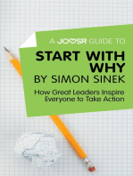 A Joosr Guide to… Start with Why by Simon Sinek