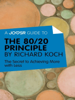 A Joosr Guide to… The 80/20 Principle by Richard Koch