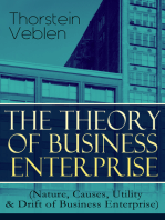 THE THEORY OF BUSINESS ENTERPRISE (Nature, Causes, Utility & Drift of Business Enterprise)