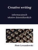 Creative writing informacyjnych tekstów dziennikarskich