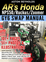 AR's Honda NPS50/Ruckus/Zoomer GY6 Swap Manual