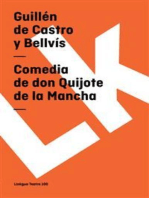 Comedia de don Quijote de la Mancha