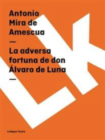 La adversa fortuna de don Álvaro de Luna