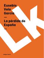 La pérdida de España