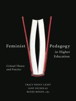 Feminist Pedagogy in Higher Education