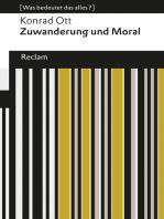 Zuwanderung und Moral