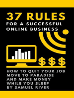 37 Rules for a Successful Online Business