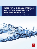 Water (R718) Turbo Compressor and Ejector Refrigeration / Heat Pump Technology