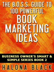100 Powerful Book Marketing Ideas (Business Owner's Smart and Simple Series, Book 2)