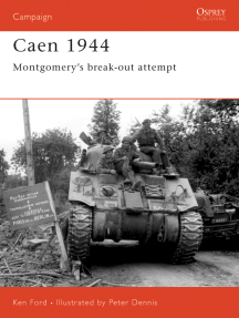 Caen 1944: Montgomery's break-out attempt