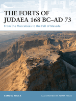 The Forts of Judaea 168 BC–AD 73