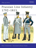 Prussian Line Infantry 1792–1815