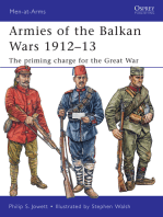 Armies of the Balkan Wars 1912–13