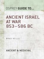 Ancient Israel at War 853–586 BC