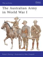 The Australian Army in World War I
