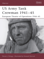 US Army Tank Crewman 1941–45