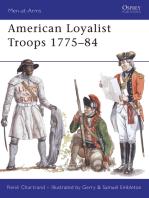 American Loyalist Troops 1775–84