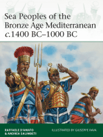 Sea Peoples of the Bronze Age Mediterranean c.1400 BC–1000 BC