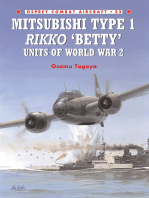 Mitsubishi Type 1 Rikko 'Betty' Units of World War 2