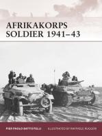 Afrikakorps Soldier 1941–43