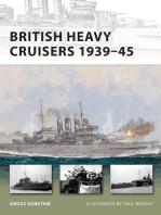 British Heavy Cruisers 1939–45