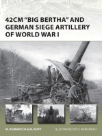 42cm 'Big Bertha' and German Siege Artillery of World War I