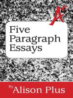 A+ Guide to Five-Paragraph Essays (A+ Guides to Writing, #1)