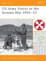 US Army Forces in the Korean War 1950–53