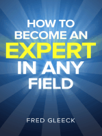 How to Become an EXPERT in ANY Field